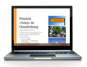 Landing Page: Pension Anny